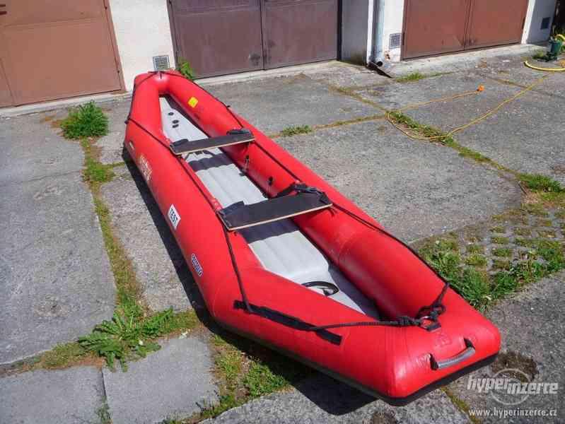 Prodám nafukovací kanoi Orinoko (ev. Orinoco) - foto 3