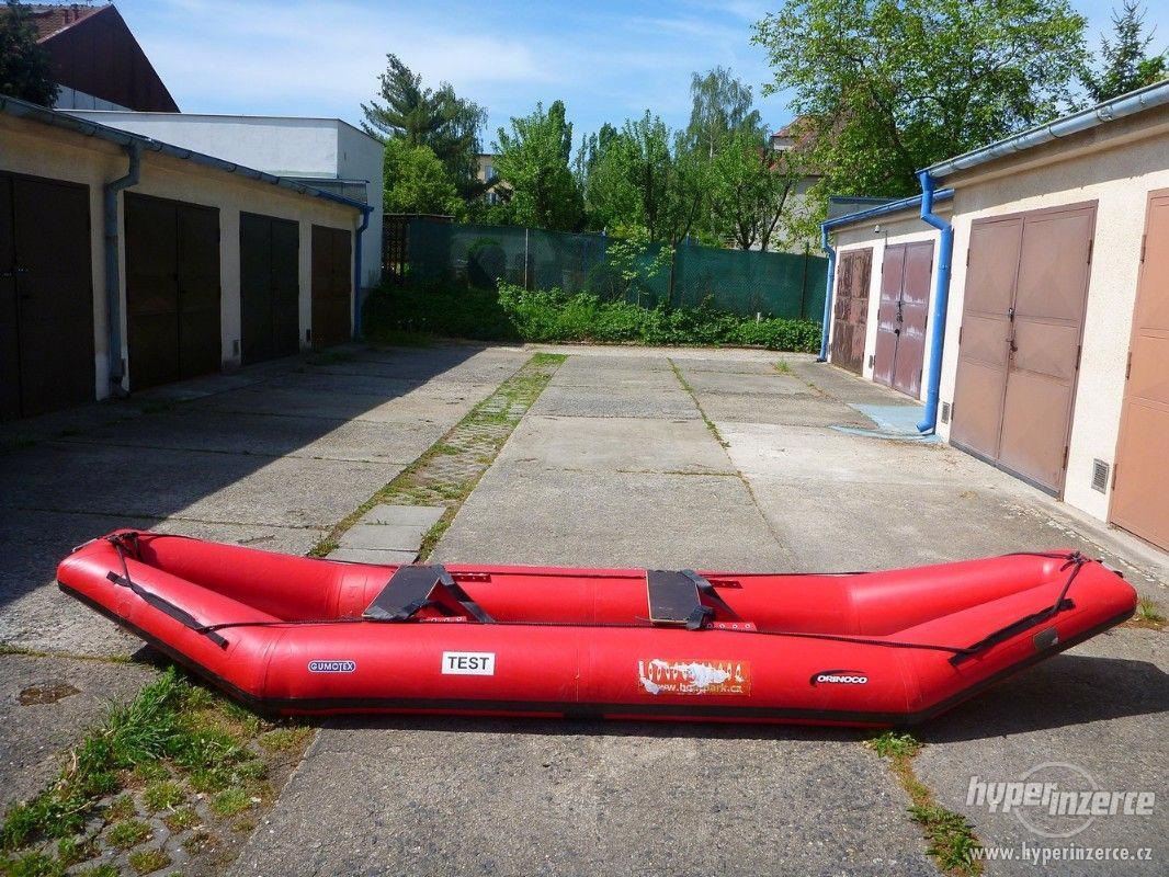 Prodám nafukovací kanoi Orinoko (ev. Orinoco) - foto 1