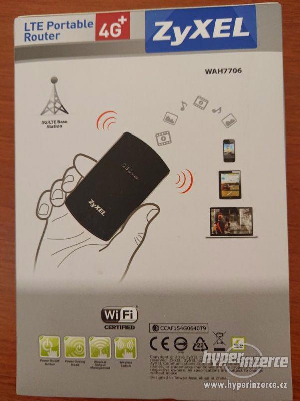 Přenosný LTE WiFi modem ZyXEL WAH7706