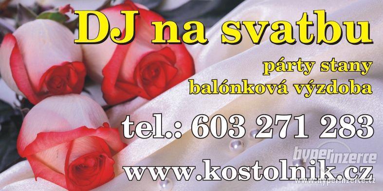 DJ na svatbu, svatební DJ, ozvučení obřadu - foto 1