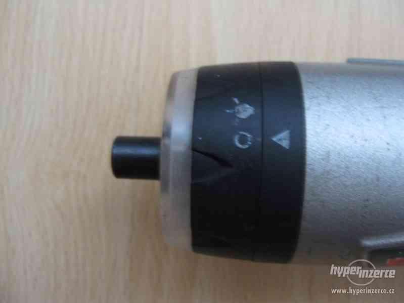 BOSCH PSR 3,6V - funkční akušroubovák - foto 6
