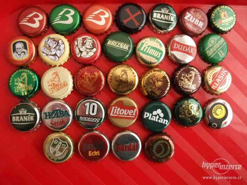 Pivní plechovky + korunkové uzávěry - foto 2