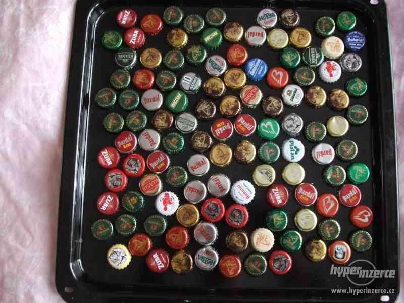 Pivní plechovky + korunkové uzávěry - foto 3