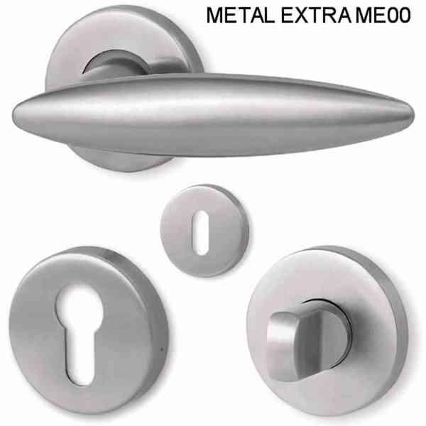 Dveřní kování ME00, ME03, ME05, ME09 a ME13