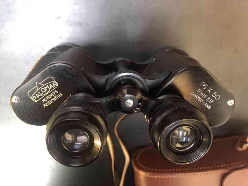 Japoský dalekohled  Palomar 16x50 Antireflex, kvalitní obraz