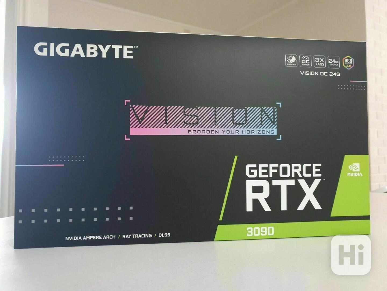 Gigabyte NVIDIA RTX 3090 VISION 24 GB GDDR6X GV-N3090VISION  - foto 1