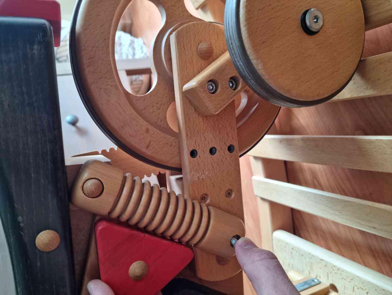 Dětské dřevěné odrážedlo motorka / houpačka - foto 6