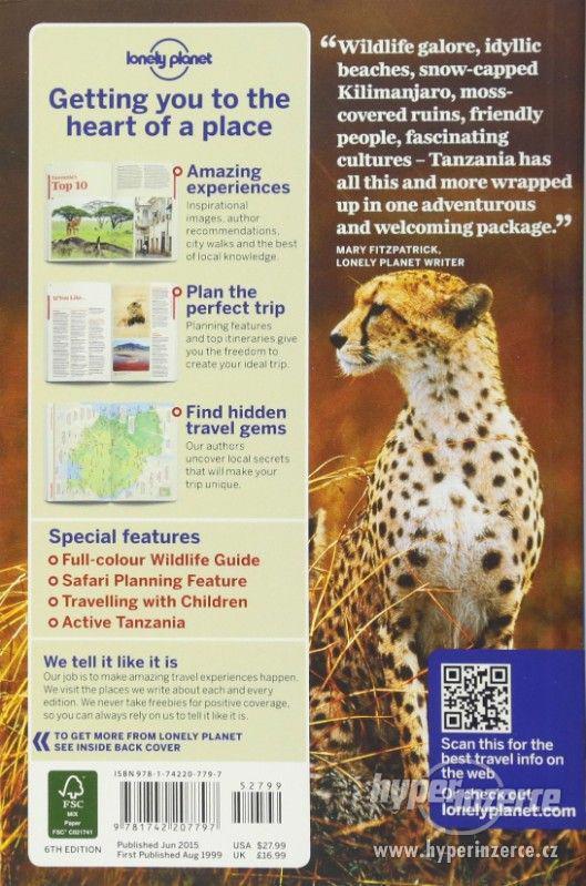 Tanzania Lonely Planet 2015 průvodce anglicky - foto 2