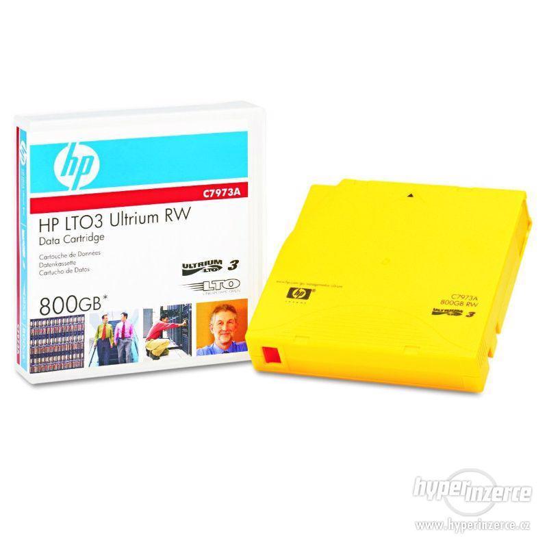 HP LTO3 Utrium 800GB magnetická páska - foto 1