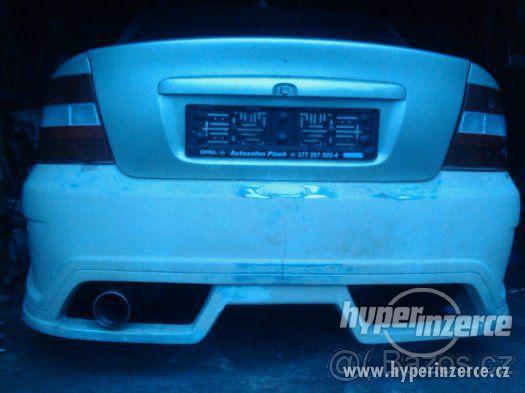 nárazníky na Opel Vectra B