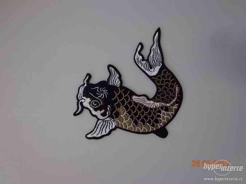 Rybářská nášivka - sumec