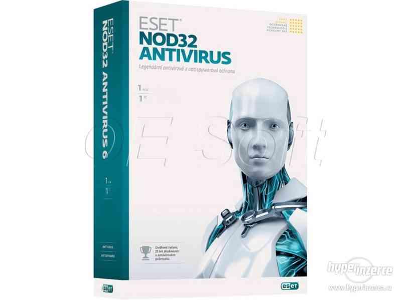 ESET NOD32 Antivirus 13 nebo Internet Security - 3 ROKY