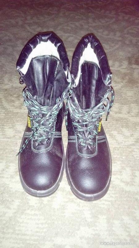 Prodám zimní pracovní obuv, ve. 44, PANDA