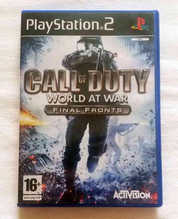 PS2 - Call of Duty World at War