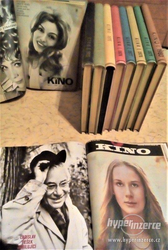 Časopis KINO-svázané ročníky +další foto časopisy a technika - foto 3