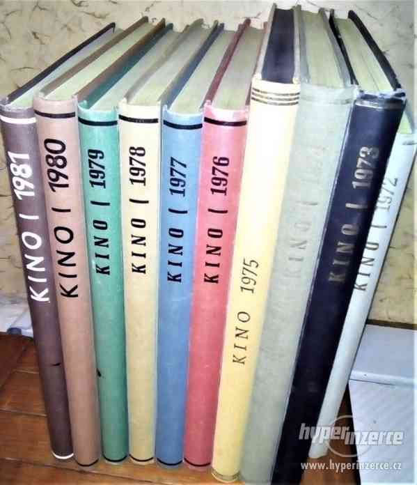 Časopis KINO-svázané ročníky +další foto časopisy a technika