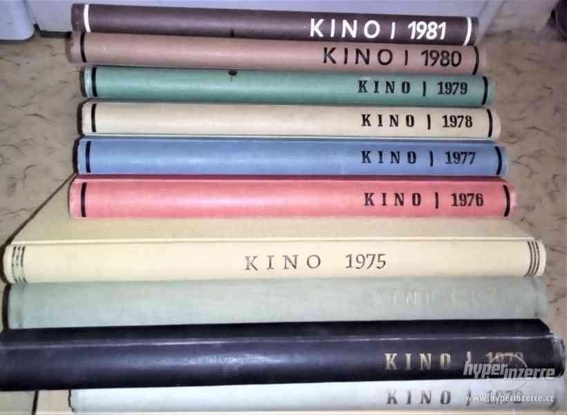 Časopis KINO-svázané ročníky +další foto časopisy a technika - foto 2