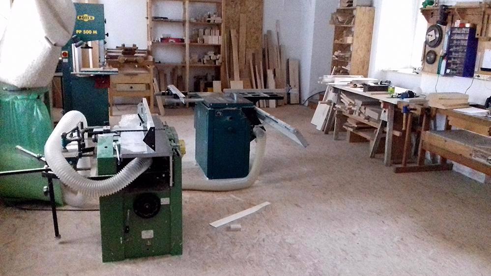 Truhlářská, modelářská dílna - vybavení - foto 1