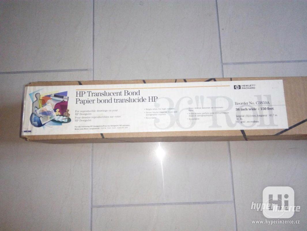 Levně prodám papír v roli HP C3859A pro ink.tisk - foto 1