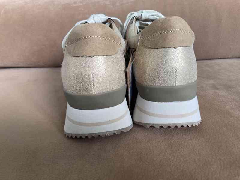 Dámské boty zlaté - foto 4