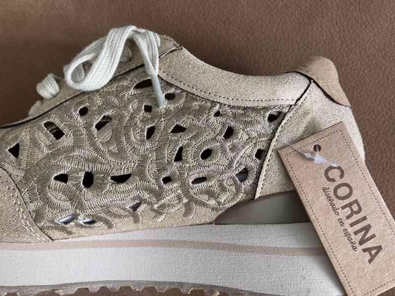 Dámské boty zlaté - foto 2