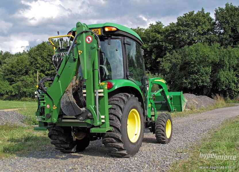 Italský podkop za traktor do tříbodového závěsu