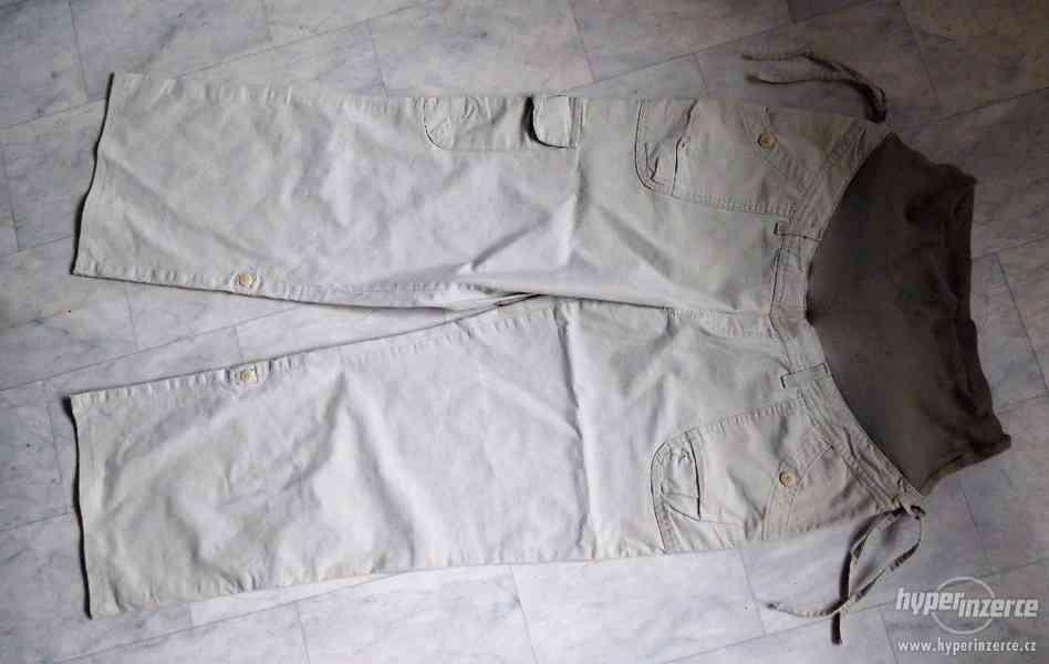 těhotenské kalhoty 2 v 1