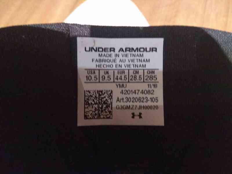 Prodám bílé značkové basketbalové ( kotníkové ) boty  - foto 3