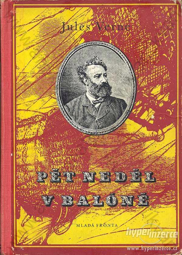 Pět neděl v baloně Jules Verne 1967