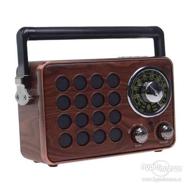 Přenosné retro rádio MK-613 - foto 1