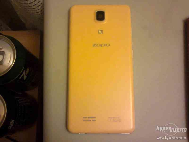 Mobilní telefon ZOPO ZP330 bíložlutý - foto 2