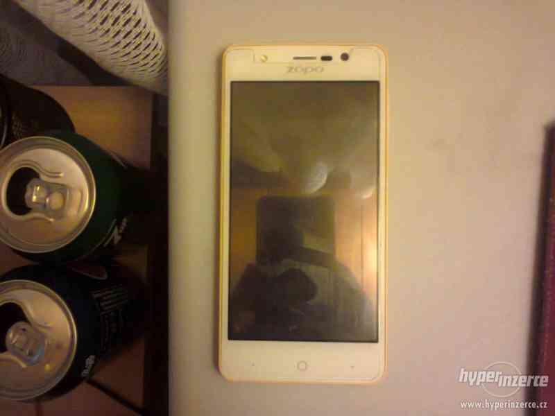 Mobilní telefon ZOPO ZP330 bíložlutý - foto 3