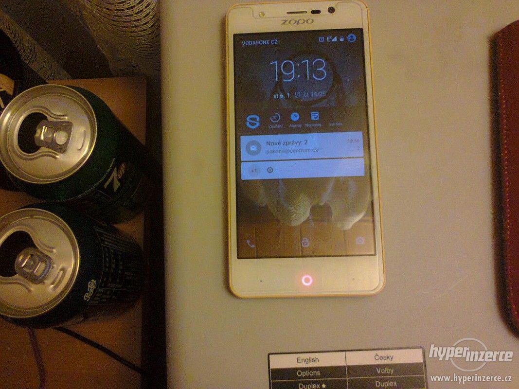 Mobilní telefon ZOPO ZP330 bíložlutý - foto 1