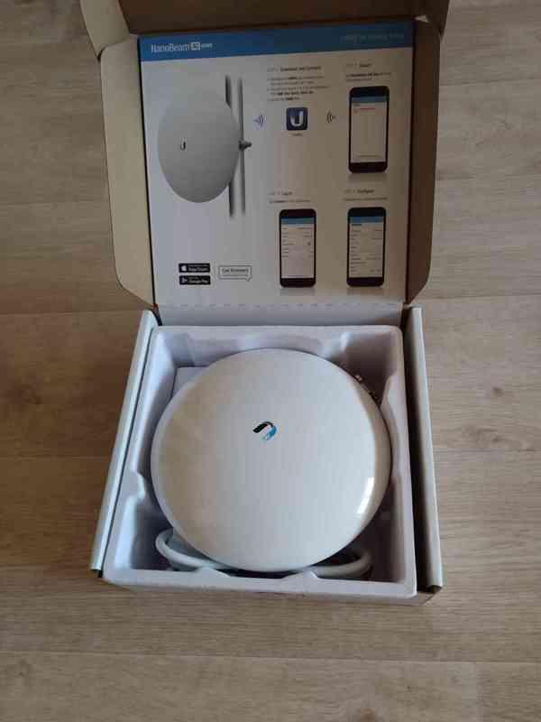 Prodám anténu(NANO BEAM AC/GEN2 pro příjem internetu  - foto 2