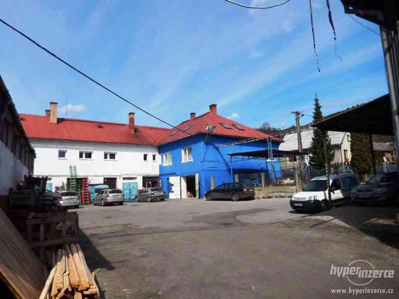 Průmyslový areál s prostory pro výrobu a skladování - foto 5
