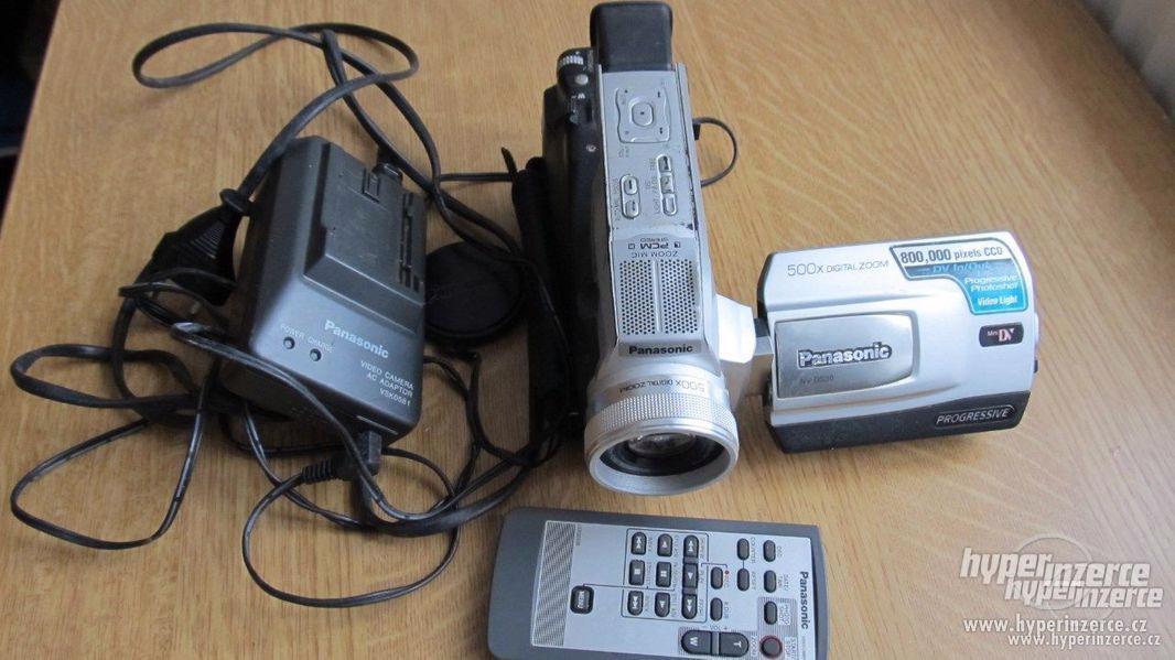 Koupím funkční kameru Panasonic NV-DS 30 nebo 29 - foto 1