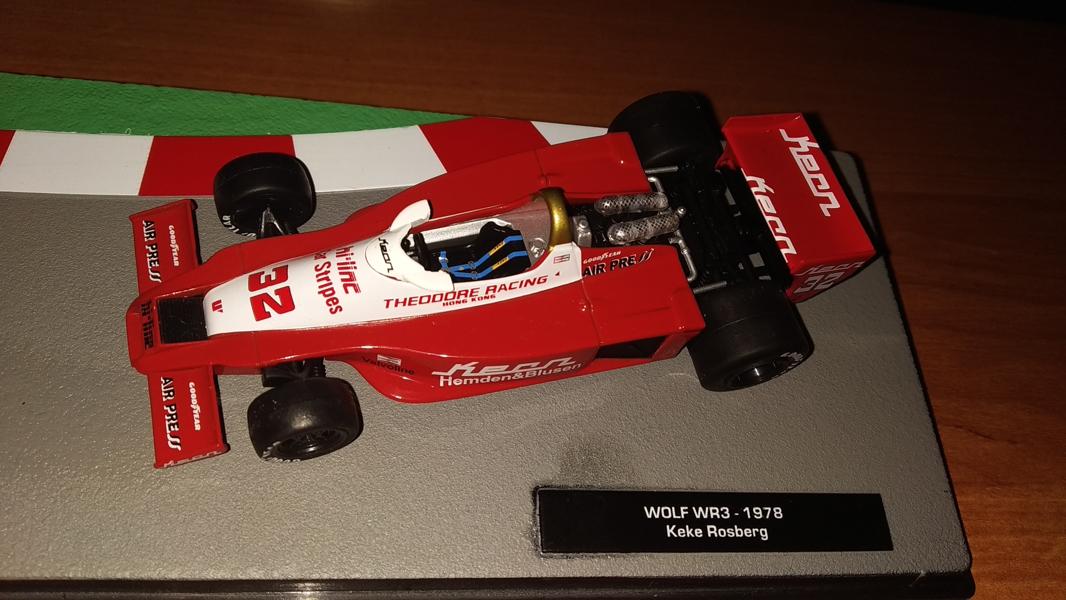 "Wolf WR1 #32 Keijo ""Keke"" Rosberg 1978 IXO Altaya 1:43"