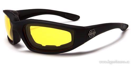 Prodám motorkářské moto sluneční brýle Choppers - foto 3