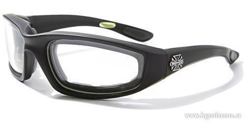 Prodám motorkářské moto sluneční brýle Choppers - foto 4