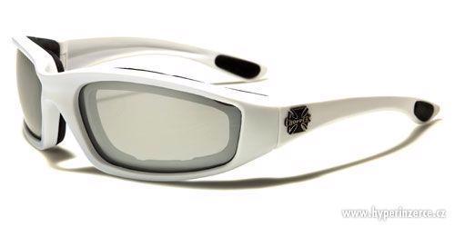 Prodám motorkářské moto sluneční brýle Choppers - foto 10