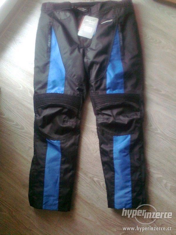 Prodám pánské textilní moto kalhoty RK SPORT - foto 1