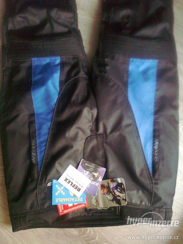 Prodám pánské textilní moto kalhoty RK SPORT - foto 2