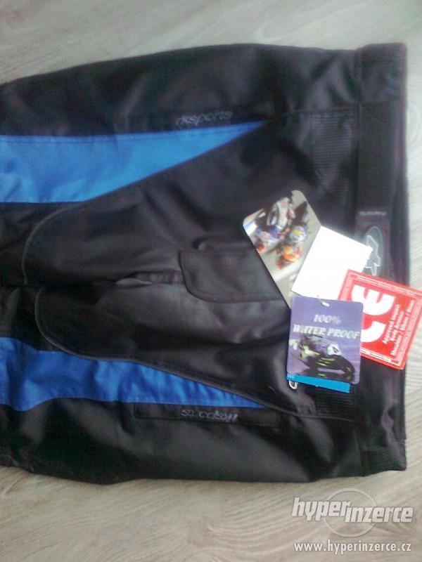 Prodám pánské textilní moto kalhoty RK SPORT - foto 4