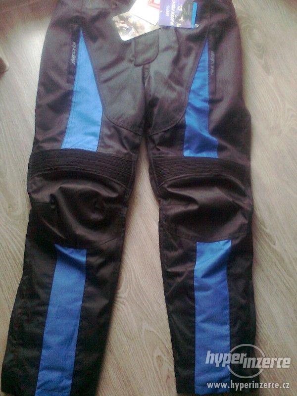 Prodám pánské textilní moto kalhoty RK SPORT - foto 5