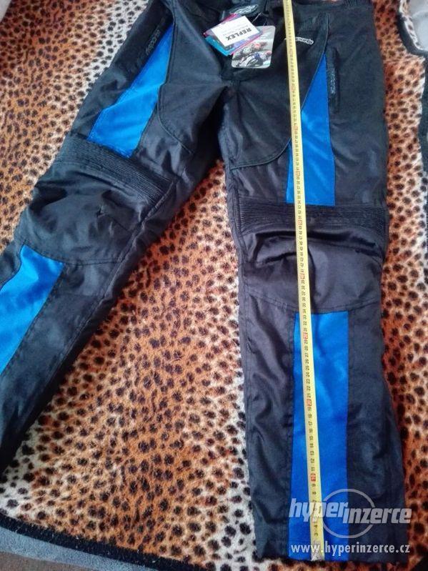 Prodám pánské textilní moto kalhoty RK SPORT - foto 7