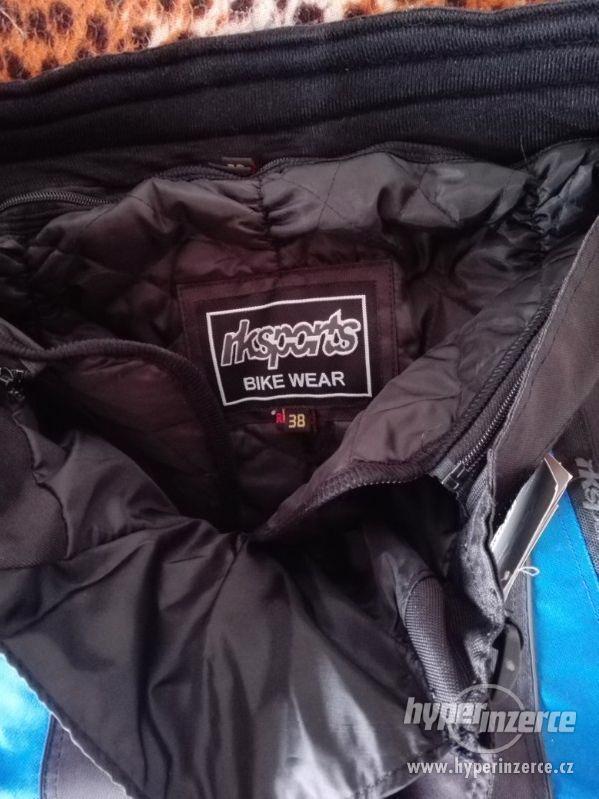 Prodám pánské textilní moto kalhoty RK SPORT - foto 9