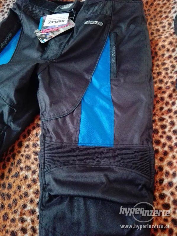 Prodám pánské textilní moto kalhoty RK SPORT - foto 10