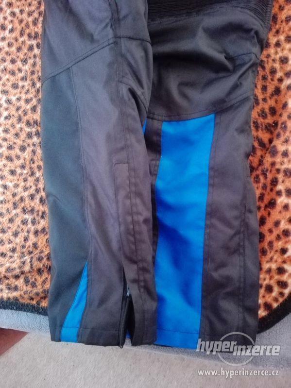 Prodám pánské textilní moto kalhoty RK SPORT - foto 11