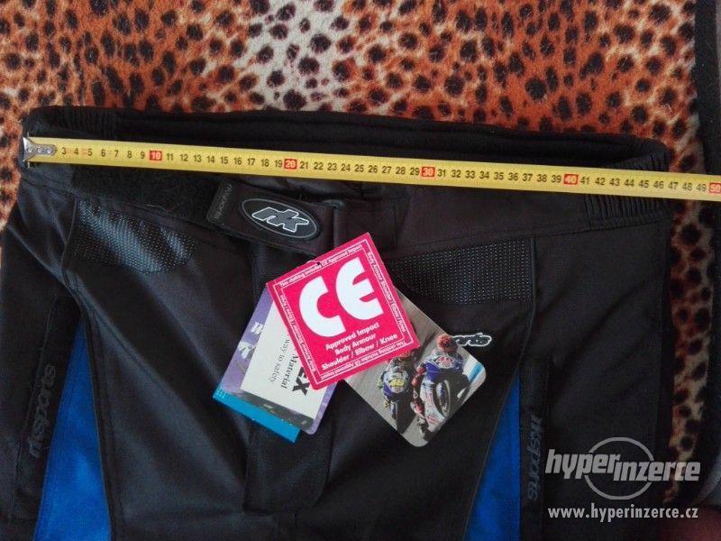 Prodám pánské textilní moto kalhoty RK SPORT - foto 12