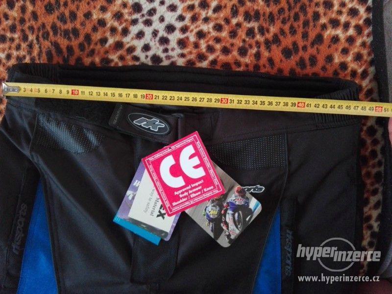 Prodám pánské textilní moto kalhoty RK SPORT - foto 13